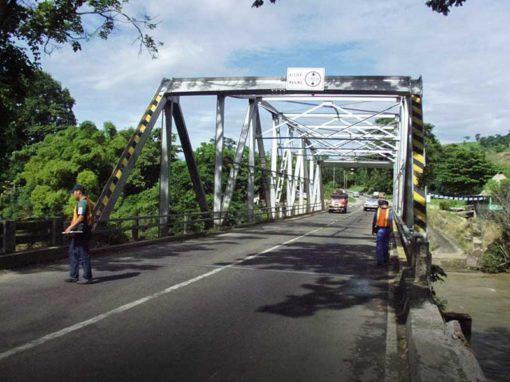 Estudios de transporte de cargas indivisibles, extrapesadas y extradimensionadas para el reforzamiento de puentes