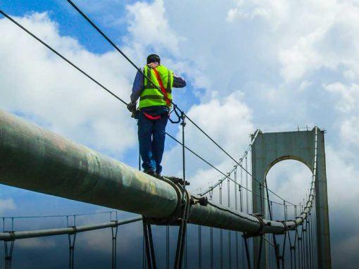 Evaluación del estado físico  del Puente Angostura sobre el río Orinoco, Estado Bolívar
