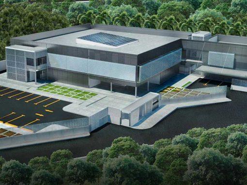 Diseño del edificio sede de la Constructora de la Fuerza Armada Nacional Bolivariana