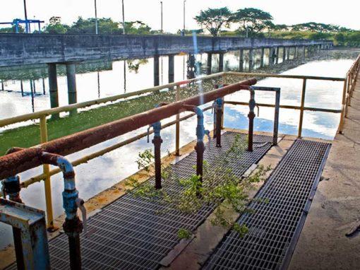 Diseño y asistencia técnica en construcción,  Planta de Tratamiento El Magüey, Puerto La Cruz, Edo. Anzoátegui.