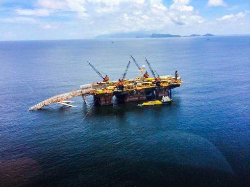 Estudio de riesgo sísmico de gasoducto marino