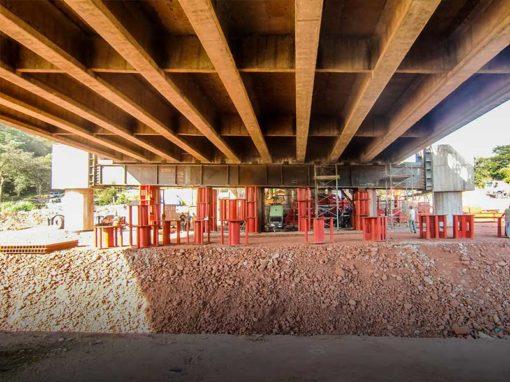 Rehabilitación estructural de la pila 4 del Puente Libertador, Autopista San Cristóbal – La Fría, estado Táchira