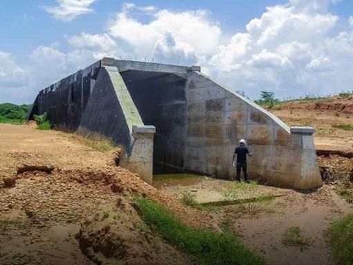 Inspección de la obra  Proyecto ferroviario Eje Tinaco – Anaco, Tramo Dos Caminos – Anaco